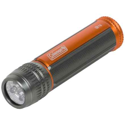 Coleman CT-6 Flashlight - 60 Lumens in Grey/Orange - Closeouts