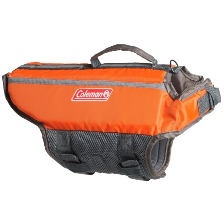 Coleman Dog Life Jacket - XS and S in Orange