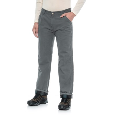 d9c04f19b4f Coleman Flannel-Lined Pants (For Men) in Gy296 Lead Grey - Overstock
