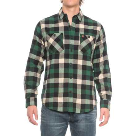 Coleman Flannel Shirt - Long Sleeve (For Men) in Green/Black - Closeouts
