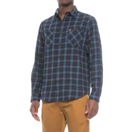 Coleman Flannel Shirt - Long Sleeve (For Men) in Indigo/Tonal - Closeouts