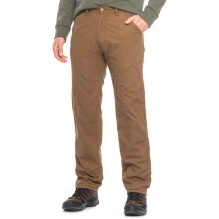 Coleman Fleece-Lined Pants (For Men) in Tobacco - Closeouts