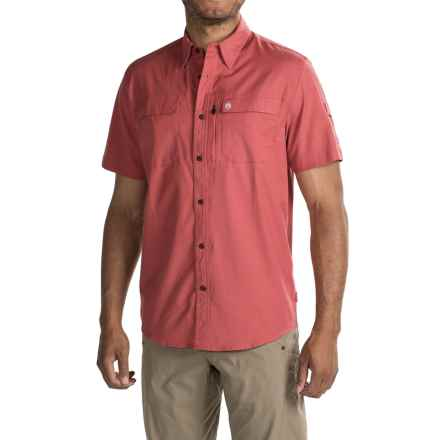 Coleman Guide Shirt - UPF 30+, Short Sleeve (For Men) in Weathered Red - Closeouts