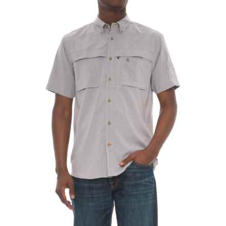 Coleman Guide Shirt - UPF 30, Short Sleeve (For Men) in Grey Heather - Closeouts