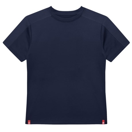Coleman High-Performance T-Shirt - Short Sleeve (For Big Boys) in Navy