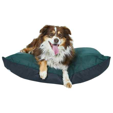 "Coleman Indoor-Outdoor Dog Bed - 36x27"" in Green - Closeouts"