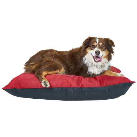 "Coleman Indoor-Outdoor Dog Bed - 36x27"" in Red - Closeouts"