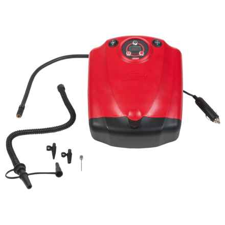 Coleman Inflate-All 12-Volt Air Compressor in Red - Closeouts
