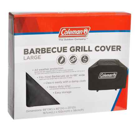 Coleman Large BBQ Grill Cover in Black - Closeouts