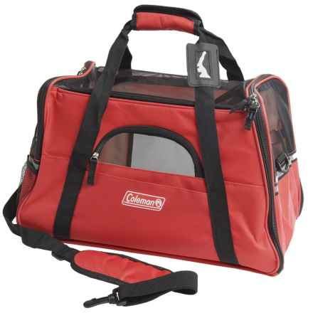 Coleman Pet Carrier in Red - Closeouts