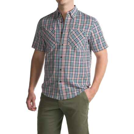 Coleman Plaid Guide Shirt - UPF 30+, Short Sleeve (For Men) in Stone Ridge - Closeouts