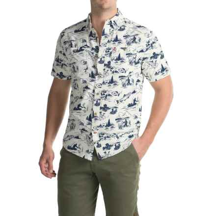 Coleman Printed Guide Shirt - UPF 30+, Short Sleeve (For Men) in Cement - Closeouts