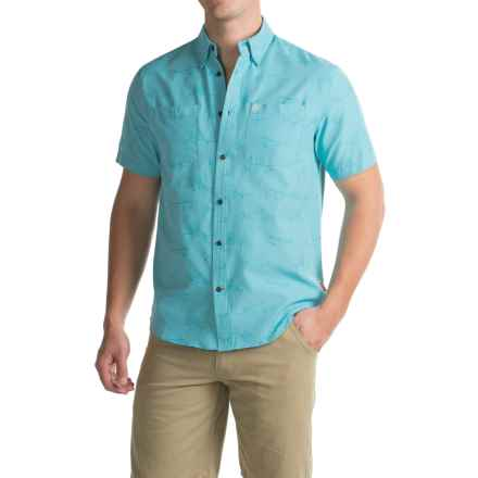 Coleman Printed Guide Shirt - UPF 30+, Short Sleeve (For Men) in Fresh Air - Closeouts