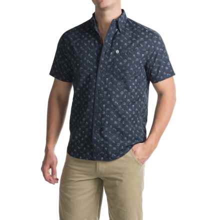 Coleman Printed Guide Shirt - UPF 30+, Short Sleeve (For Men) in Indigo - Closeouts