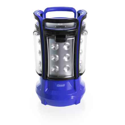 Coleman Quad Elite Lantern - 360 Lumens in Blue - Closeouts