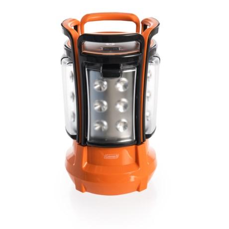 Coleman Quad Elite Lantern - 360 Lumens in Orange