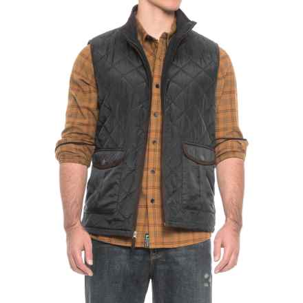 Coleman Quilted Vest - Insulated (For Men) in Black - Closeouts