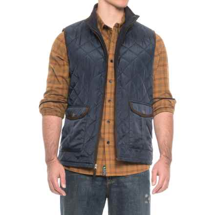 Coleman Quilted Vest - Insulated (For Men) in Midnight Navy - Closeouts