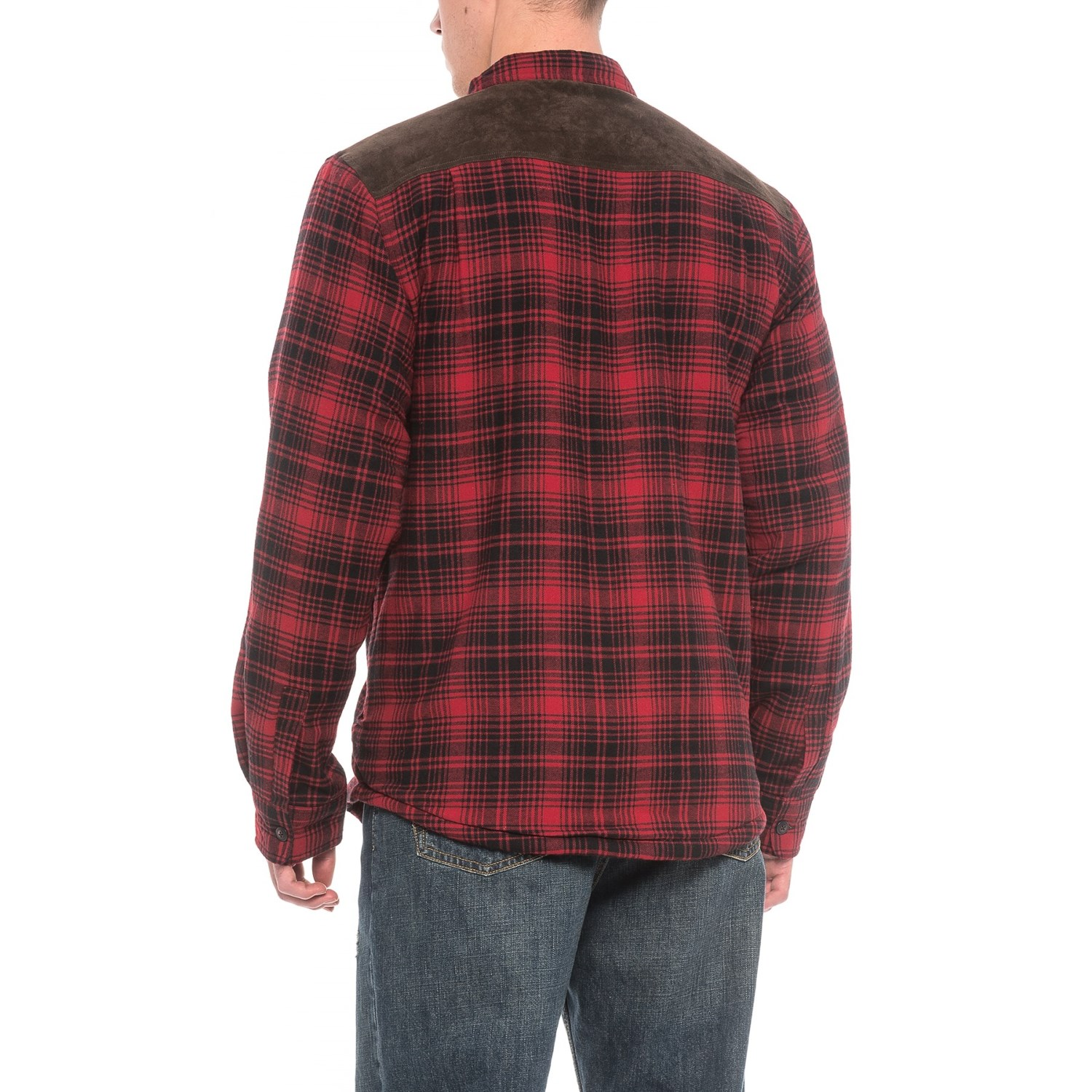 Coleman Sherpa Lined Flannel Shirt Jacket For Men Save 63