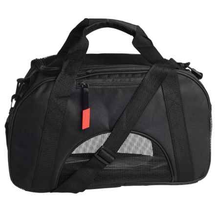 "Coleman Small Pet Carrier - 17x10"" in Black - Closeouts"