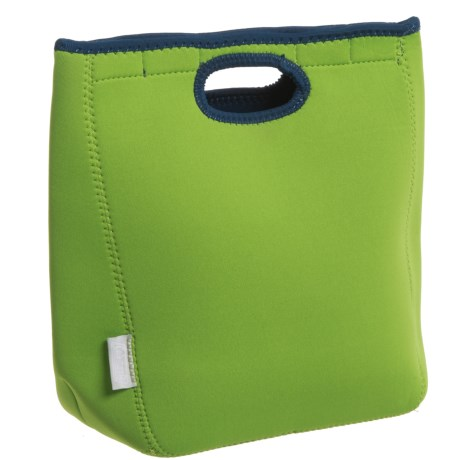"""Coleman Soft Cooler - 10.5x9x5-1/4"""" in Lime/Navy"""