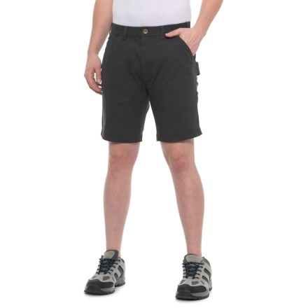 cd9a29161b Coleman Stretch Canvas Shorts (For Men) in Raven