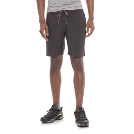 Coleman Stretch Trail Shorts (For Men) in Raven - Closeouts