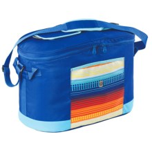 Coleman Summer Picnic Soft Cooler Tote Bag in Blue - Closeouts