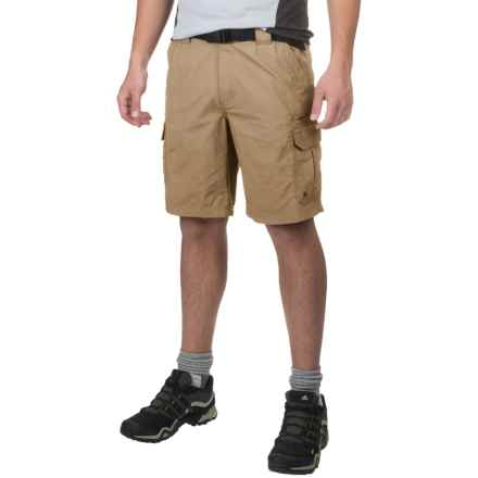 Coleman Taslon Hiking Cargo Shorts (For Men) in Mountain Khaki - Closeouts