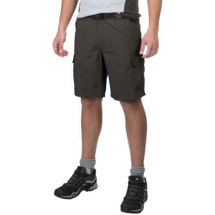 Coleman Taslon Hiking Cargo Shorts (For Men) in Raven - Closeouts