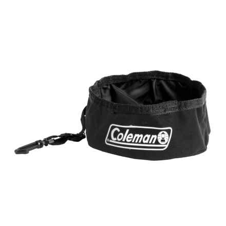 Coleman Travel Bowl for Pets - 24 oz. in Black - Closeouts