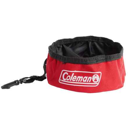 Coleman Travel Bowl for Pets - 24 oz. in Red - Closeouts
