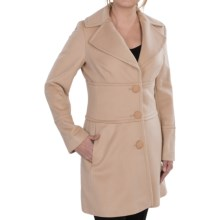 Collection Fiftynine Cashmere Duffle Coat (For Women) in Camel - Closeouts