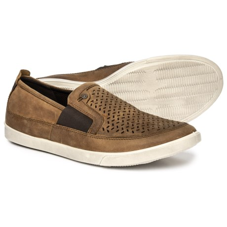 Image of Collin Leather Shoes - Slip-Ons (For Men)