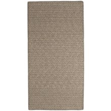 Colonial Mills All-Natural Houndstooth Wool Accent Rug - 2x4' in Camel - Closeouts