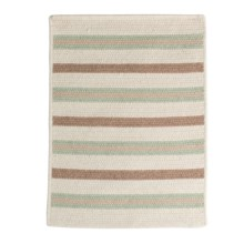 Colonial Mills Allure Braided Rug - Wool Blend, 2x6' in Misted Green - Closeouts