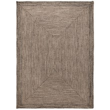 Colonial Mills Braided Indoor/Outdoor Area Rug - 5x7', Rustic Tweed in Natural - Overstock