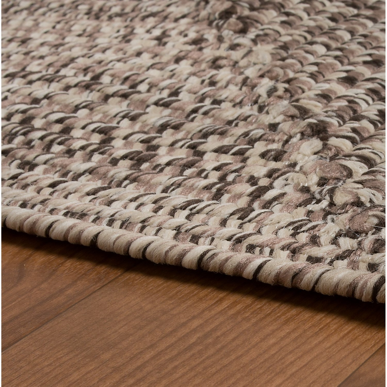 Colonial Mills Braided Indoor/Outdoor Area Rug   8x10u0027, Rustic .