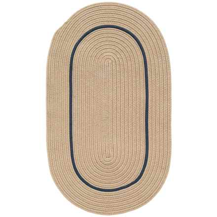 "Colonial Mills Breckenridge Braided Oval Accent Rug - 27x46"" in Natural - Closeouts"