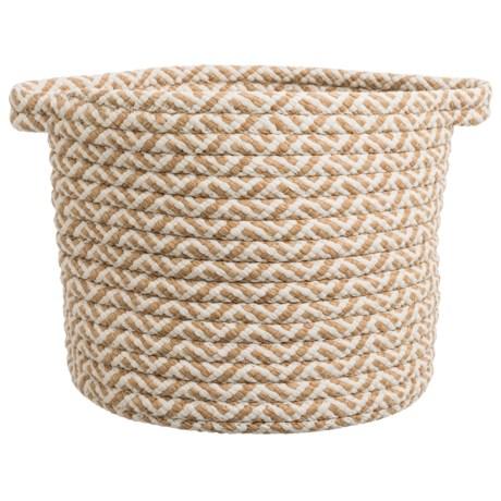 Image of Colonial Mills Chevron Weave Storage Basket - 12x13?
