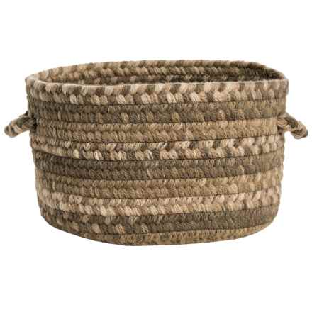 """Colonial Mills Farmington Storage Basket - 8x12"""" in Natural - Overstock"""