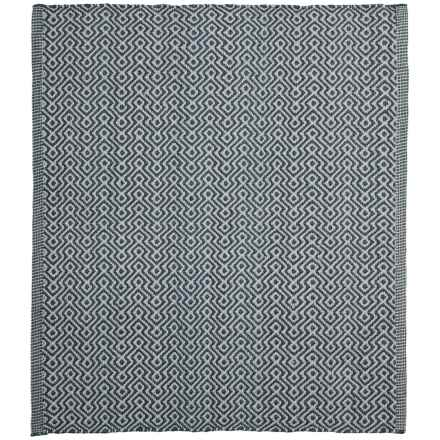 "Colonial Mills Geometric Flat-Weave Rug - 26x34"" in Greystone - Closeouts"