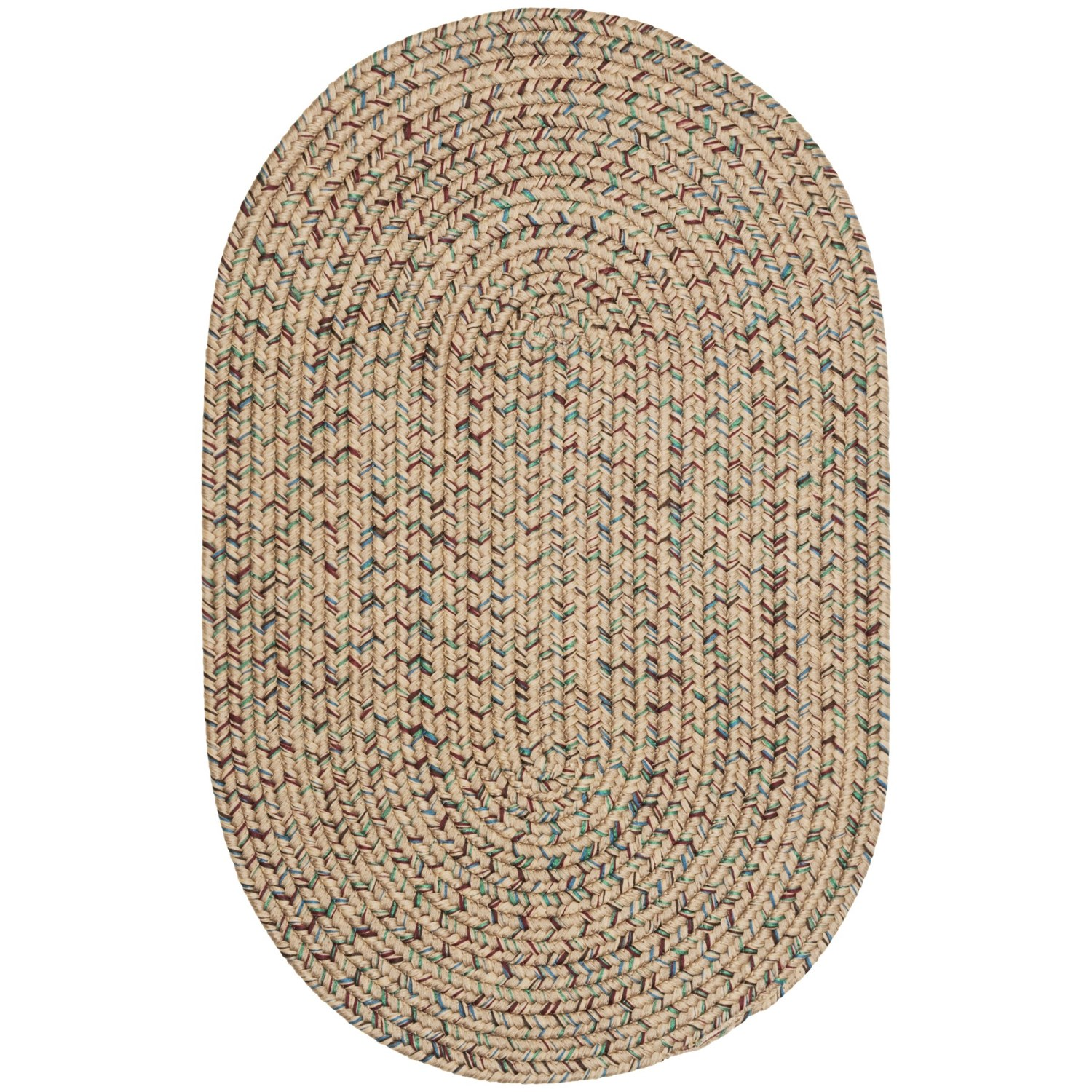Colonial Mills Indoor Outdoor Multi Area Rug 4x6' Save 62%