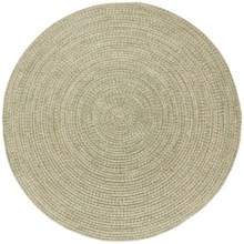 Colonial Mills Round Textured Tweed Rug - 8x8' in Palm - Overstock