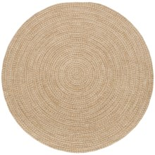 Colonial Mills Round Textured Tweed Rug - 8x8' in Toast - Overstock