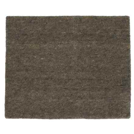 "Colonial Mills Sasha Plush Textured Scatter Rug - 26x34"" in Charcoal - Closeouts"
