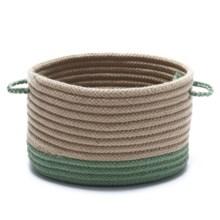 """Colonial Mills Tip-Top Medium Storage Basket - 13x13x9"""" in Moss Green - Overstock"""
