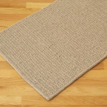 Colonial Mills True Natural Rectangular Rug - 8x10', Wool in Natural - Closeouts
