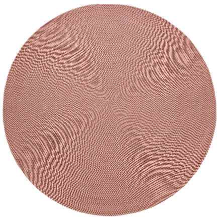 Colonial Mills Twisted Check Round Rug - 7' in Cedar - Closeouts