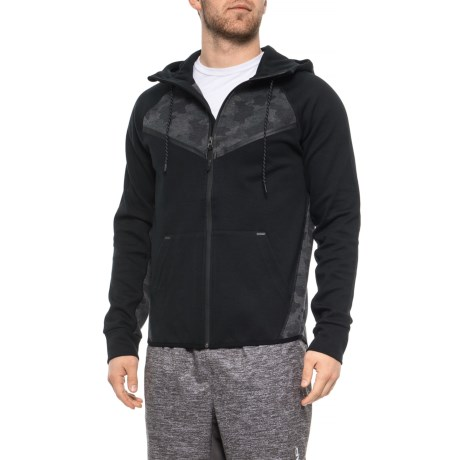 Image of Color-Block Hoodie - Zip Front (For Men)